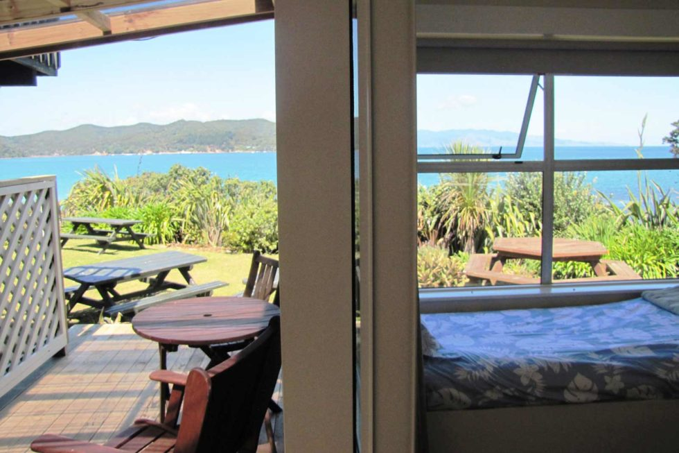 Accommodation With Sea Views Of Tryphena Harbour And The Coromandel