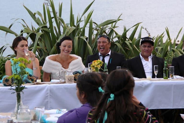 Wedding Receptions At Tipi & Bobs Waterfront Lodge