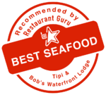 Waterfront Lodge seafood award - Great Barrier Island Bistro & Restaurant
